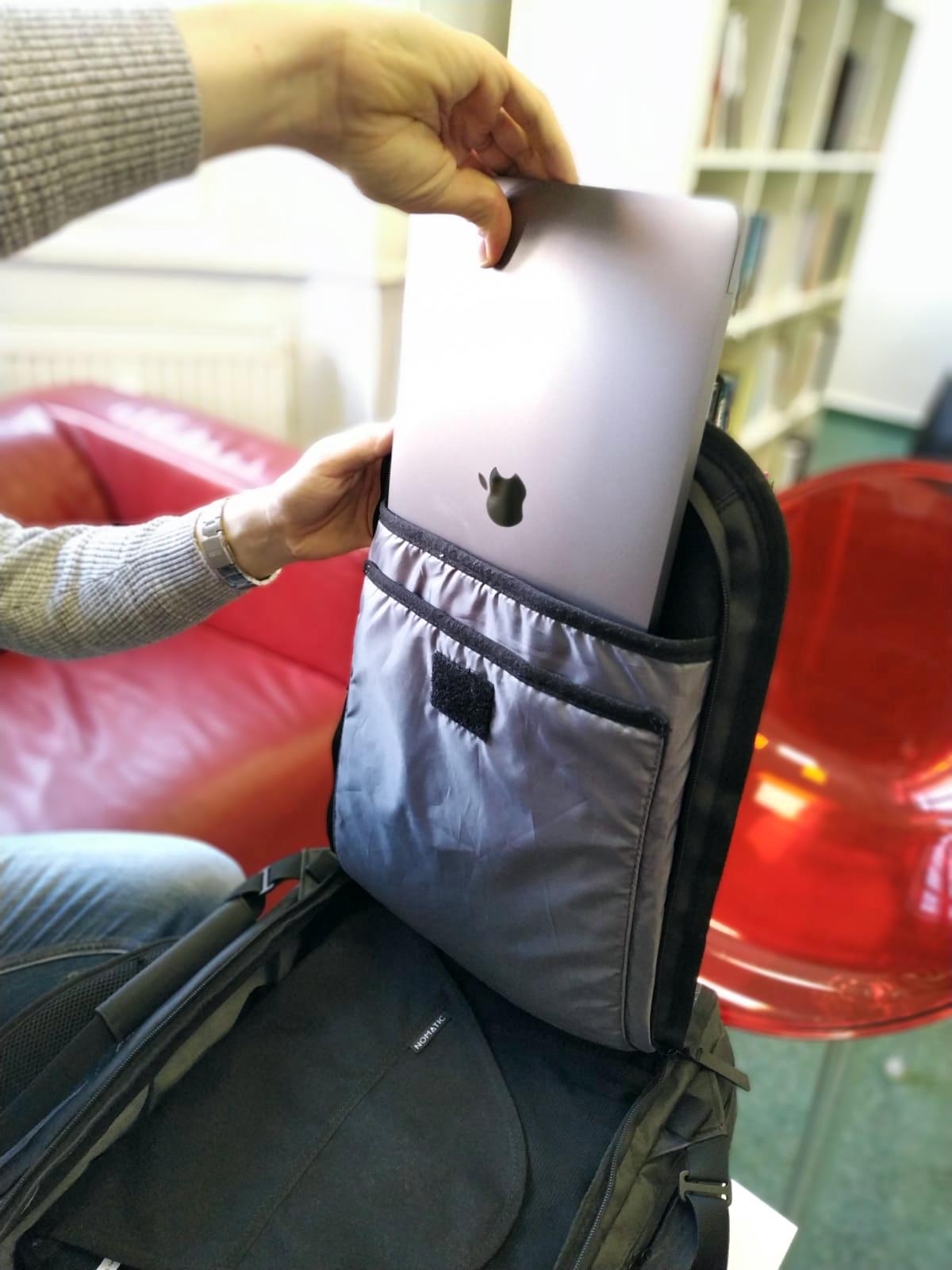 nomatic travel bag notebook 2