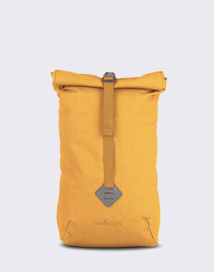 rolovaci batoh zluty