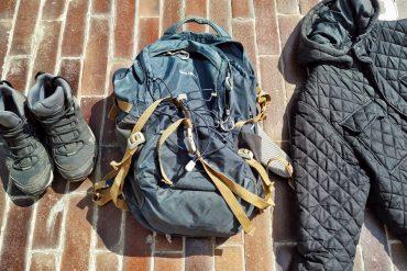 jak vyprat batoh