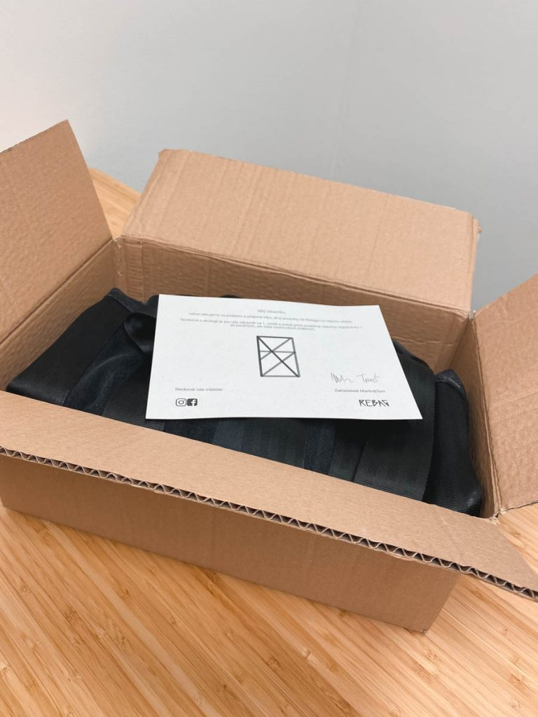 ReBag krabice